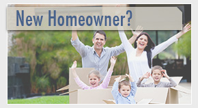 family gets approved for a new home loan